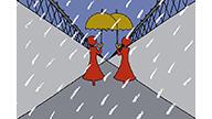 雨と傘と男と女04